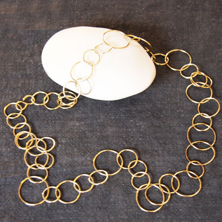 Collier Maillons Or