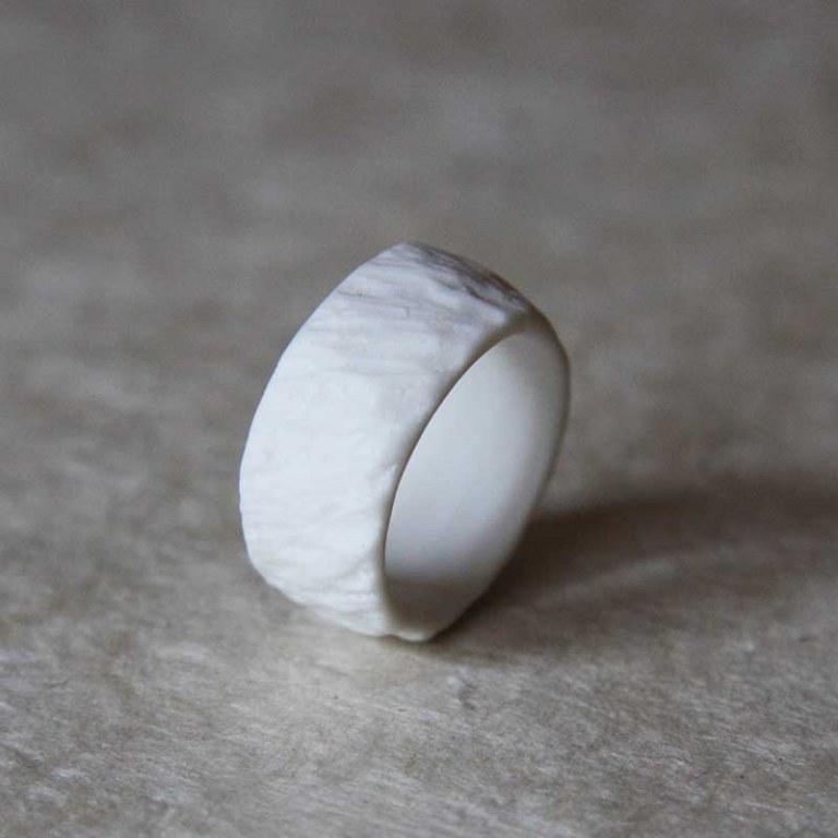 Anneau Porcelaine Texturé