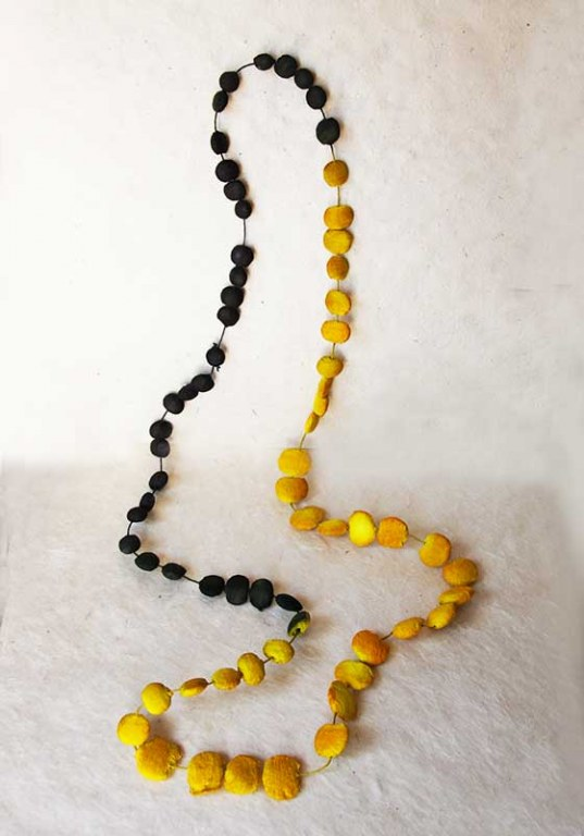 Yellow Stones Necklace