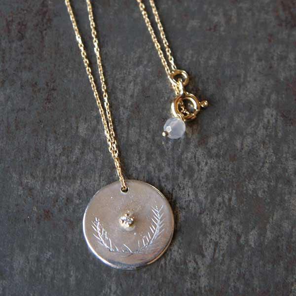 Médaille & chaîne or