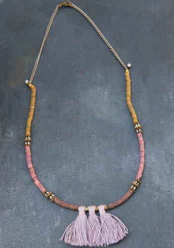 Collier Irwin rosy brown