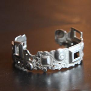 Bracelet Rond Carré Argent