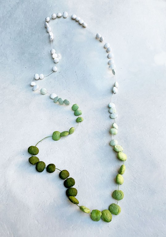 Green Stones Necklace