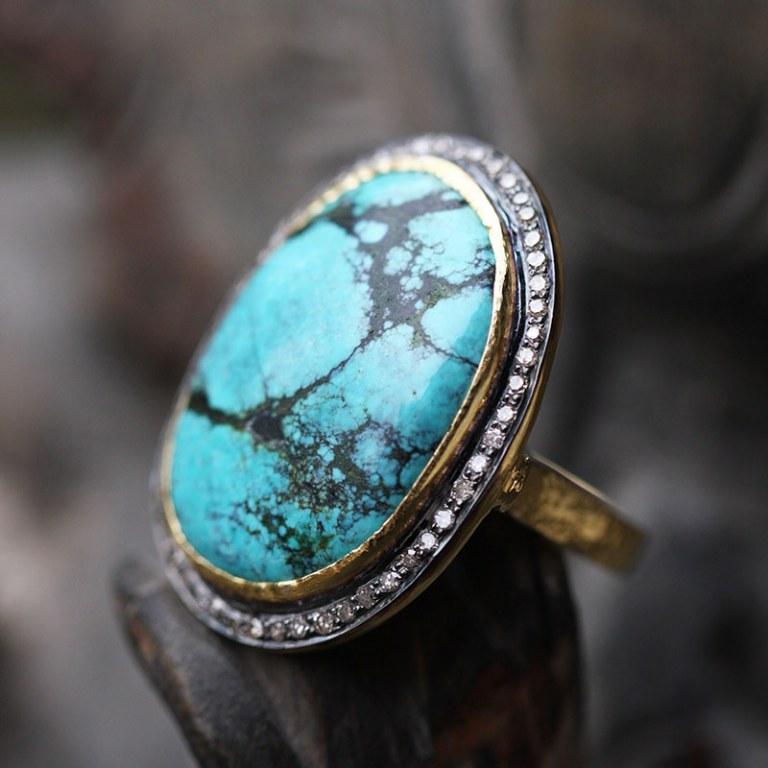Bague Elk Turquoise n°3
