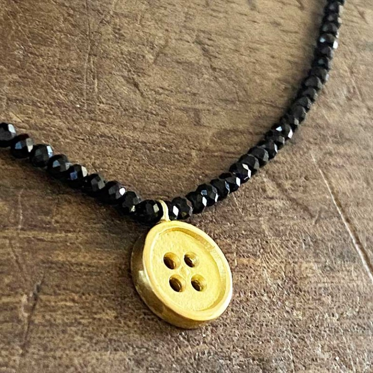 Collier Bouton d'Or VENDU