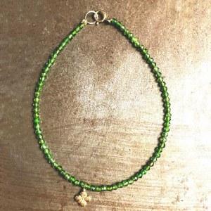Bracelet Ispahan Agates Verte 1