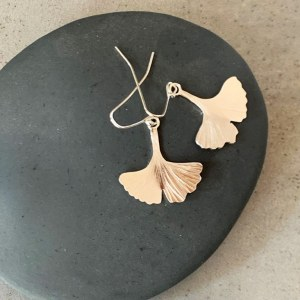 Boucles d'Oreilles Gingko