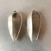 Boucles d'oreilles Feuilles Lisses