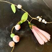 Collier Fleurs & Bourgeons