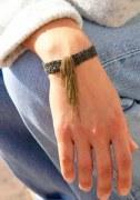 Bracelet Fringe Bicolore