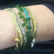 Bracelet Or Gris Palladié Gan Eden