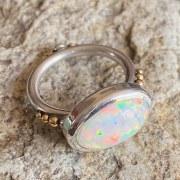 Bague Cabochon Opale n°1