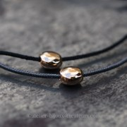 Bracelet Pépite Percée Or Rose