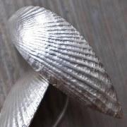 Boucles d'oreilles Feuilles Empreintes