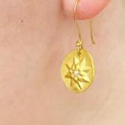 Boucles d'oreilles Soleil