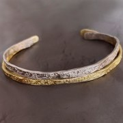 Bracelet Jonc Ouvert or jaune