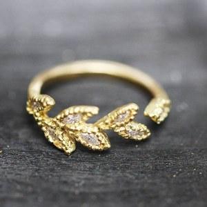 Bague Epis Diamants
