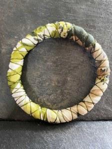 Bracelet Tissu Vert