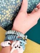 Bracelet Porcelaine noire