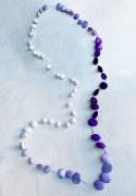 Sautoir Violet